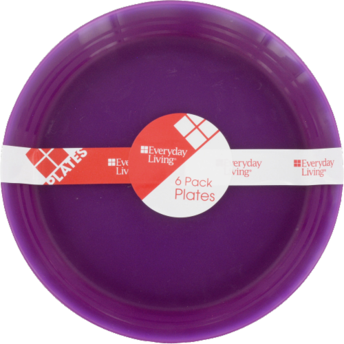 Everyday Living® Kids Dinner Plates - 6 Pack Perspective: front