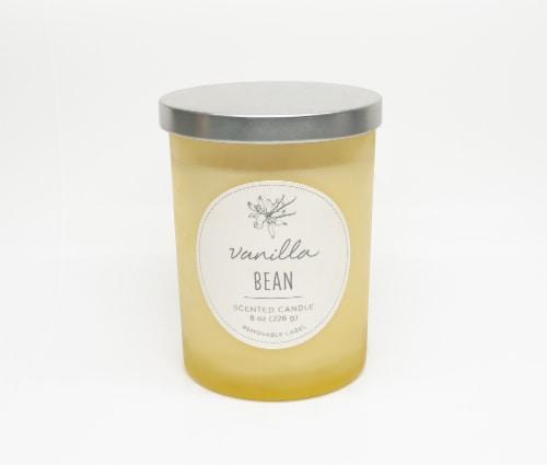 HD Designs Vanilla Bean Jar Candle Perspective: front