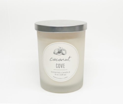 HD Designs Coconut Grove Jar Candle Perspective: front