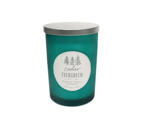 HD Designs Cedar Evergreen Jar Candle Perspective: front