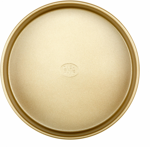 Dash of That Round Cake Pan - Gold Perspective: front