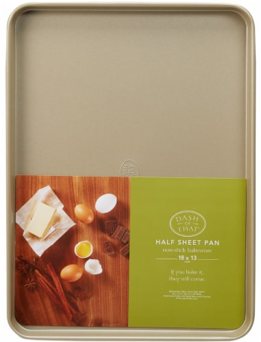 Dash of That™ Half Baking Sheet - Gold Perspective: front