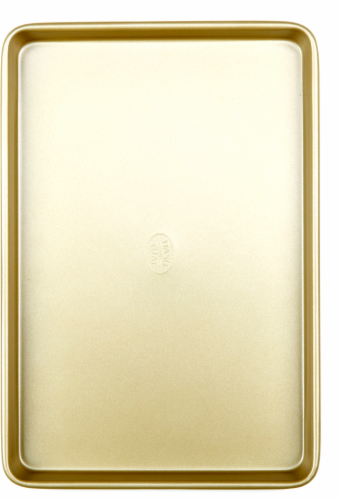 Dash of That™ Jelly Roll Pan - Gold Perspective: front