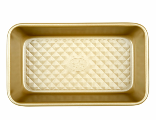 Dash of That Large Loaf Pan - Gold Perspective: front