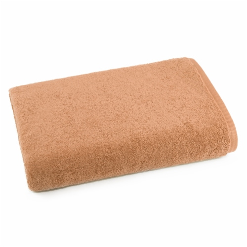 Dip Solid Bath Sheet - Cork Perspective: front