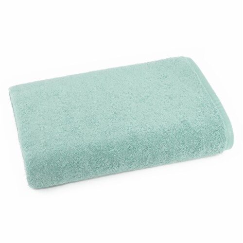 Dip Solid Bath Sheet - Icy Morn Perspective: front