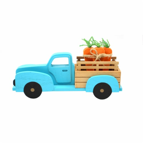 Holiday Home Carrot Truck - Blue Perspective: front