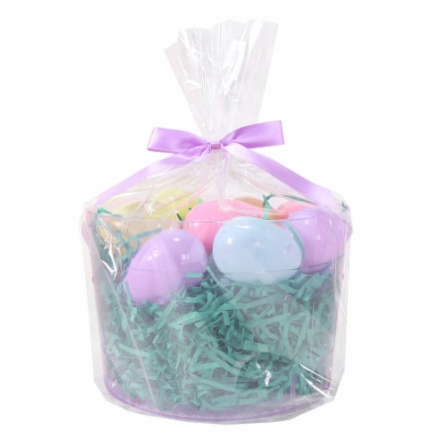 Holiday Home Easter Bucket Kit - Purple Perspective: front