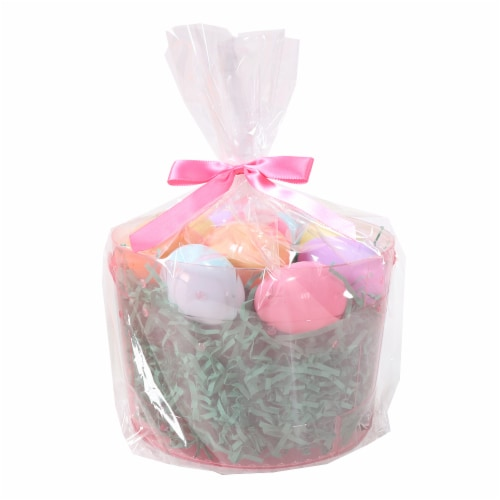 Holiday Home Easter Bucket Kit - Pink Perspective: front