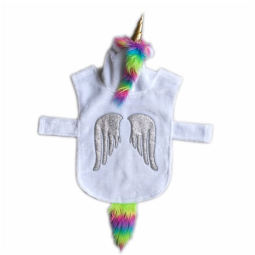 Holiday Home Unicorn Large Pet Costume Perspective: front