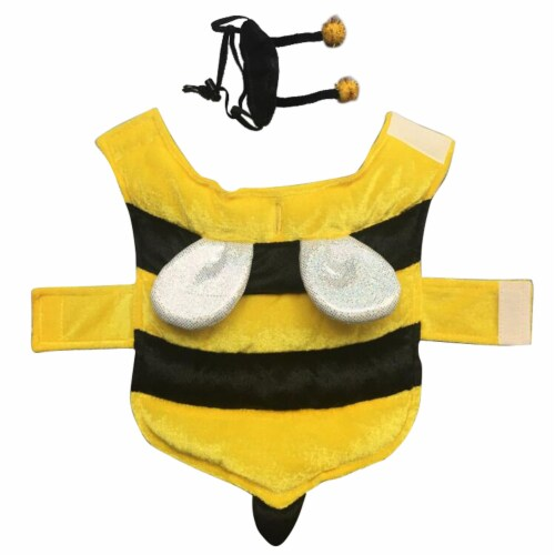 Holiday Home Medium Bumble Bee Pet Costume Perspective: front
