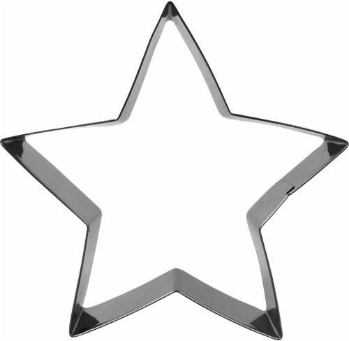 Dash of That Star Cookie Cutter - Silver Perspective: front