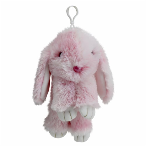 Holiday Home Plush Bunny - Pink Perspective: front