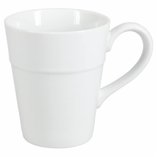 Dash of That™ Ro Ceramic Mug - White Perspective: front