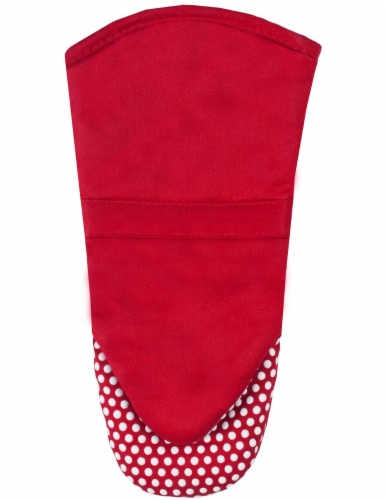 Everyday Living Silicone Puppet Mitt - Red Perspective: front