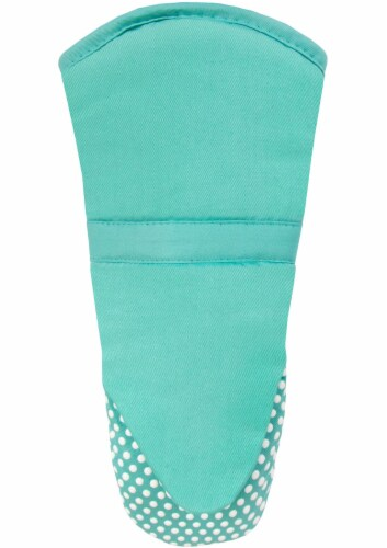 Everyday Living Silicone Puppet Mitt - Teal Perspective: front