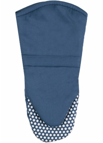 Everyday Living Silicone Puppet Mitt - Blue Perspective: front