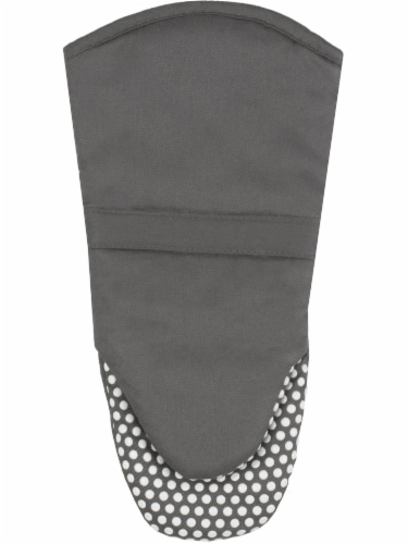 Everyday Living Silicone Puppet Mitt - Charcoal Perspective: front