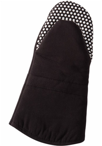Everyday Living Silicone Puppet Mitt - Black Perspective: front