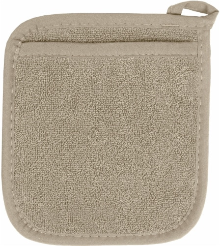 Everyday Living Pocket Mitt - Light Gray Perspective: front