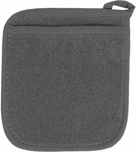 Everyday Living Pocket Mitt - Charcoal Perspective: front
