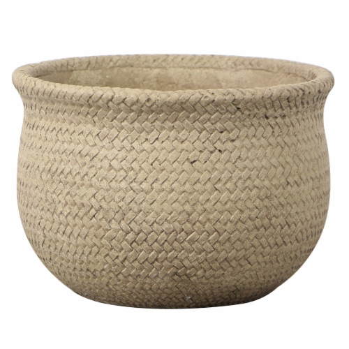 The Joy of Gardening® Weft Planter Perspective: front