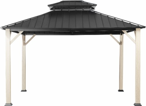 HD Designs Outdoors Gazebo Perspective: front