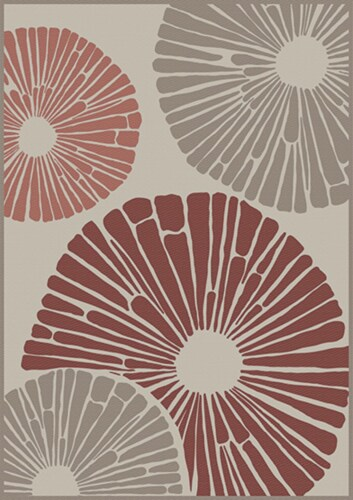 HD Designs Outdoors Flowerburst Rug Perspective: front