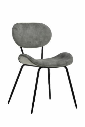 HD Designs Brooklynn Velvet Dining Chair Perspective: front