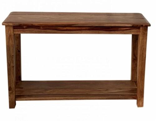 Modavari Home Fashions Auburn Console Table Perspective: front