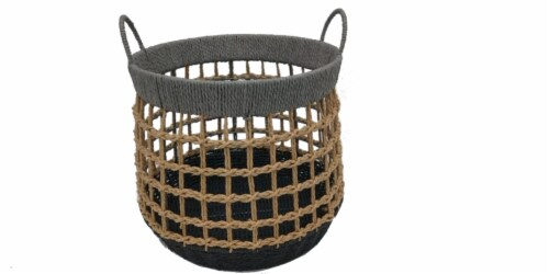 HD Designs® Large Paper Rope Basket Perspective: front
