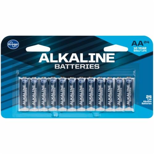 Kroger® AA 1.5-Volt Alkaline Batteries Perspective: front