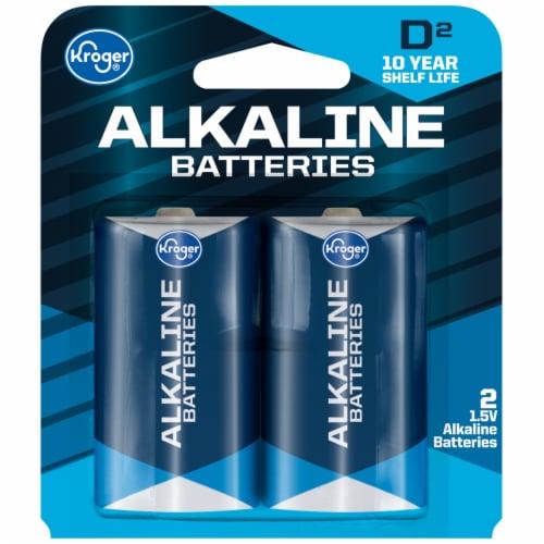 Kroger® D 1.5-Volt Alkaline Batteries Perspective: front