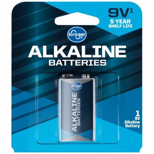 Kroger® 9-Volt Alkaline Battery Perspective: front