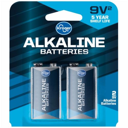 Kroger® 9-Volt Alkaline Batteries Perspective: front