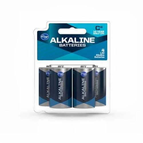 Kroger® C 1.5-Volt Alkaline Batteries Perspective: front