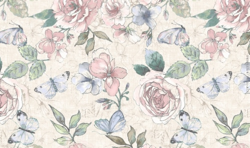 Holiday Home® Mia Placemat - Floral Perspective: front