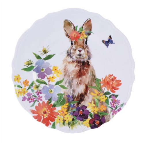 Holoiday Home® Melamine Salad Plate - Easter Perspective: front