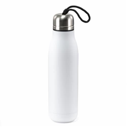 HD Designs Outdoors Double Wall Vacuum Bottle - Bright White Perspective: front