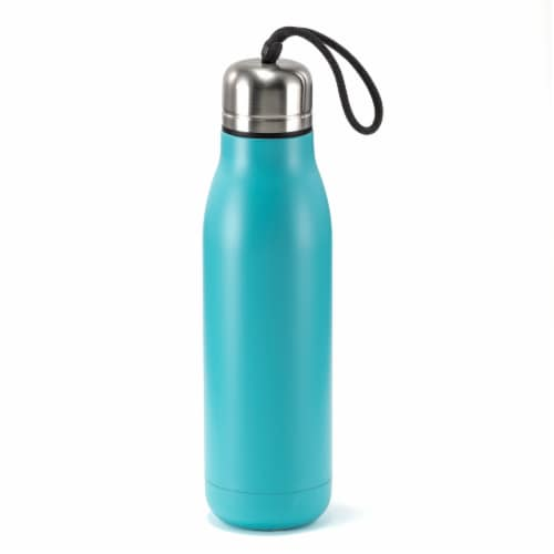 HD Designs Outdoors Double Wall Vacuum Bottle - Aquarelle Perspective: front