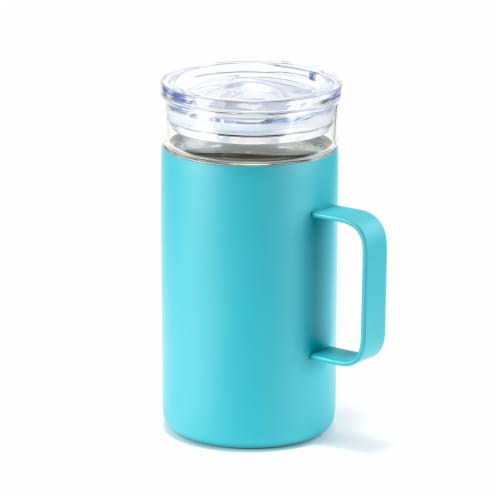 HD Designs Outdoors Double Wall Vacuum Mug - Aquarelle Perspective: front