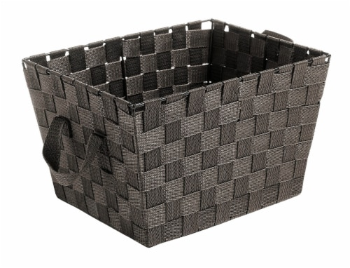 Everyday Living Small Woven Strap Tote - Espresso Perspective: front