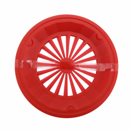 HD Designs Outdoors® Paper Plate Holders - Red Perspective: front