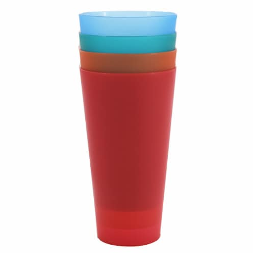 HD Designs Outdoors® Tumblers - 4 Pack - Brights Perspective: front
