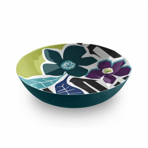 HD Designs Outdoors Flowers Dinner Bowl Perspective: front