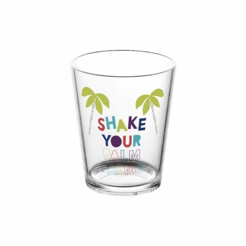 HD Designs Outdoors Shake Your Palm Palms Cocktail Glass Perspective: front