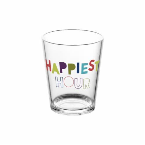 HD Designs Outdoors® Happiest Hour Cocktail Glass Perspective: front