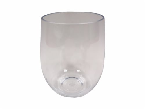 HD Designs Outdoors Wine Glass - Clear Perspective: front