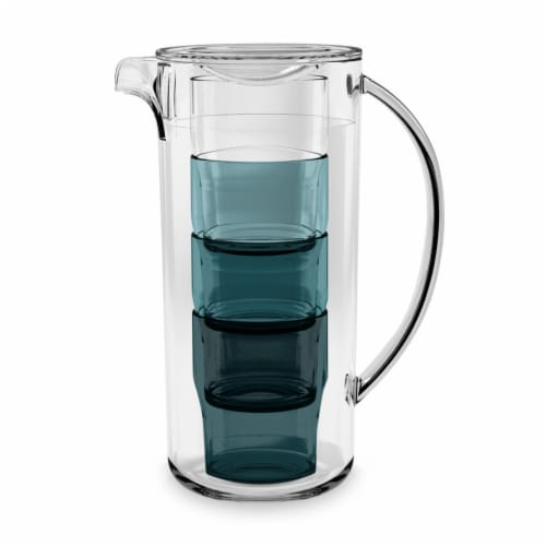 HD Designs Outdoors Nested Pitcher With Lid Perspective: front