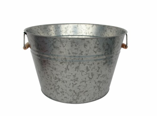 HD Designs Outdoors® Galvanized Beverage Tub Perspective: front